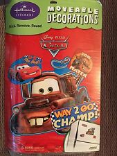 Disney Cars Party Supplies-Party Stickers, Decorations-Removable Large Stickers