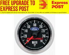 "Auto Meter Ford Racing Water Temperature Gauge 2-1/16"", Black Dial, Full Sweep E"