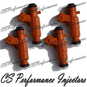 Bosch Fuel Injectors Set for 2000-2009 Saab 9-5 2.3 I4 Turbo 01 02 03 04 05 06