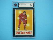1970/71 TOPPS NHL HOCKEY CARD #26 GARRY UNGER KSA 7.5 NM+ SHARP!! 70/71 TOPPS