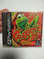 Frogger 2: Swampy's Revenge (Sony PlayStation PS1, 2000) Black Label Complete Ex