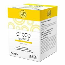 LIPOCAPS C1000, liposomal vitamin C, 120 capsules FORMEDS
