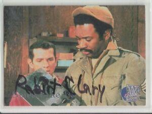 HOGAN'S HEROES ROBERT CLARY LE BEAU SIGNED TRADING CARD TVCC72 COA