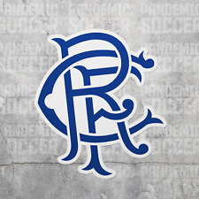 Rangers FC Scotland Vinyl Sticker Decal Scottish Premiership Football Glasgow