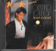 GERARD JOLING - Heart to Heart CD Album 10TR (Mercury) Holland 1987