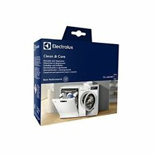 GENUINE ELECTROLUX WASHING MACHINE DESCALER AND DEGREASER PACK OF 12  9029798072