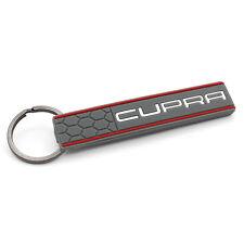 Cupra llavero aschgrau/rojo wabenoptik-Seat Leon 5f 1p St FR Ateca
