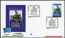 2013 - ITALIA - BUSTA PRIMO GIORNO FDC FILAGRANO TURISTICA - 5 BUSTE
