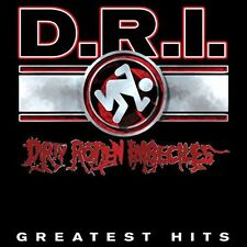 D.R.I. - Greatest Hits [New Vinyl] Clear Vinyl, Ltd Ed