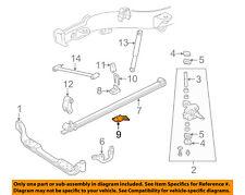 GM OEM Front Suspension-Leaf Spring Spacer Left 15629129