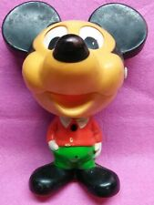 Mickey Mouse Vintage Pull String Talking Toy 1975 Mattel Origional Form Rare!