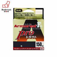 NEW Duel Armored F+ Pro Trout 150m 7lb #0.4 Orange 0.110mm Braid Line Japan