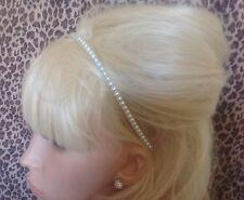 NEW IVORY FAUX PEARL BEAD ALICE HEAD BAND HAIR BAND HEADBAND BRIDAL WEDDING 8a1b8318a6f