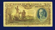 Angola  5 Angolares 1947 PIC77 VG/FINE 1262967 CL-1