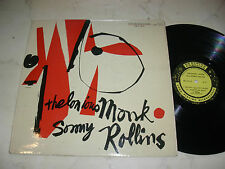 THELONIOUS MONK AND SONNY ROLLINS Same *MEGARARE US PRESTIGE MONO 1st PRESS*