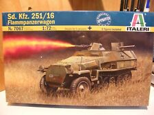 Italeri Sd. Kfz. 251/16 Flammpanzerwagen   unopened        1/72