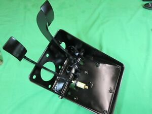 TRIUMPH TR6 TR250- BRAKE/ CLUTCH MOUNT (NLA) & PEDALS- Original, Refurbished