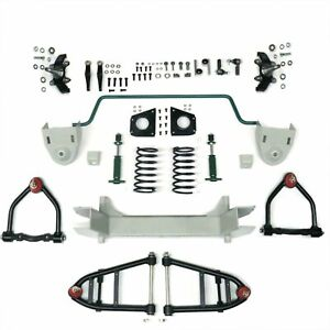 Mustang II 2 IFS Front End kit for 67 -79 Ford Truck w Shocks Springs Swaybar