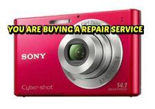 SONY DSC-W330 REPAIR SERVICE for your BROKEN Digital Camera w/60 Day Warranty