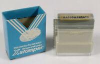 PRL) VINTAGE 1970 TIMBRO RACCOMANDATA TIMBRE PRINTER OFFICE REINKABLE XSTAMPER