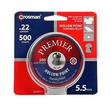 Crosman Premier Hollow Point .22 Cal  500 Count LHP22 Brand New