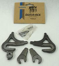Shimano Dura Ace Dropout Set EF Road W Adjusters Vintage Bicycle Frame NOS