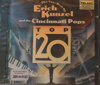Rare Eric Kunzel Best Of  CD 20 Tracks New Telarc 76 mins Sealed MINT DDD
