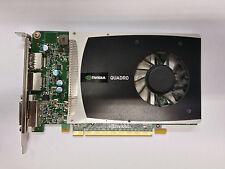 NVidia Quadro 2000 1GB GDDR5 GFX Card PCI-E x16 DVI Dual Display Port - Silver