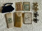 SM+Mixed+Lot+Vintage+Sewing+notions--buttons+-felt+needle+case-+frogs-+bias+tape