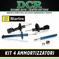 Kit 4 Ammortizzatori STARLINE FIAT PANDA (141) 0.9 1.0 1.1 3 ANNI DI GARANZIA