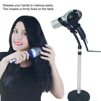 Adjustable Hair Dryer Holder Hands Free Removable Sucking Cup Stand