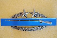 US USA Army Combat Infantry Badge 3rd Award Large Military Hat Lapel Pin