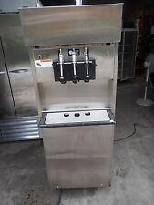ELECTROFREEZE 3 FLAVOR PRESSURIZED SOFT SERVE ICE CREAM MACHINE, 220V, 3-PH., WA