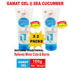Natural Traditional Sea Cucumber Gamat Gel Treatment Minor Cuts and Burns 2 Pack