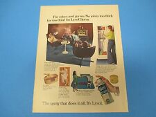1973  Lysol For Odors & Germs The Spray That Does It All Color Print Ad PA010