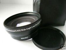 BK 58mm 0.45X Wide-Angle Lens For Canon VIXIA LEGRIA HF G10 S30 32GB G20 G25