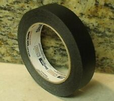 """1"""" x 180' Roll COLORED MASKING TAPE - BLACK"""