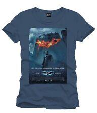 Batman The Dark Knight Affiche Poster Denim Men T-Shirt Homme Man Taille Size XL