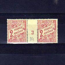TUNISIE Taxe n° 34 neuf avec charnière - Paire millésime 3