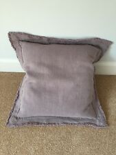 M&S Dusky Lilac Cushions with Feather Filled Pad (Pair) - BRAND NEW