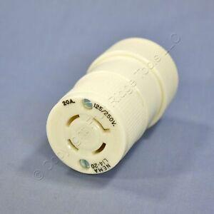 Hubbell Bryant Turn Twist Locking Connector NEMA L14-20R 20A 125/250V 71420-NC