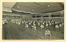 Brooklyn Ny Y.M.C.A. Central Branch Two Of Three Gyms Men Exercising P/C