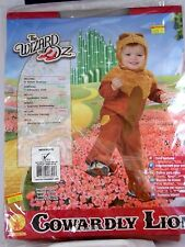 Newborn Baby Child Cowardly Lion Halloween Wizard of Oz Costume Trick or Treat
