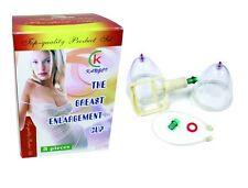 Brand New Best Women's Breast Enhancement & Enlarge Plastic Pump Cupping Set