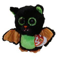 "TY Halloween Beanie Boos 6"" BEASTIE the Bat Plush Stuffed Animal Toy MWMTs"