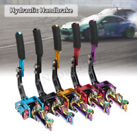 HYDRAULIC HORIZONTAL DRIFT RALLY E-BRAKE RACING PARKING HANDBRAKE LEVER 5  ++