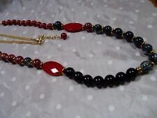 Fashion Faux Beaded Necklace, Very colorful, Pretty
