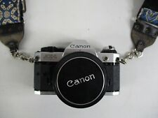 Canon AE-1 Program 35mm Film Camera Canon Lens FD 50mm 1:14 - AS IS 35mm SLR