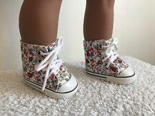 """18"""" Pouces Floral Doll Chaussures Boots American Girl notre génération"""