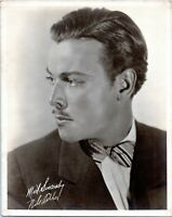 1920s Nils Asther Hollywood Movie Star Actor Vintage Photo
